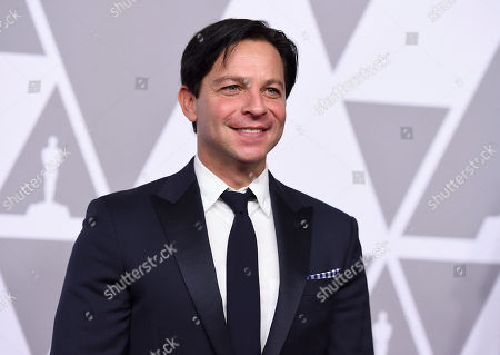 Scott Neustadter arrives at the 90th Academy Awards Nominees Luncheon at The Beverly Hilton hotel, in Beverly Hills, Calif