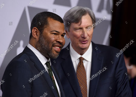 Jordan Peele, John Bailey. Jordan Peele, left, and John Bailey arrive at the 90th Academy Awards Nominees Luncheon at The Beverly Hilton hotel, in Beverly Hills, Calif