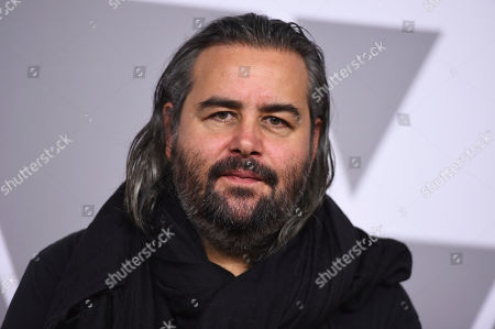 Hoyte van Hoytema arrives at the 90th Academy Awards Nominees Luncheon at The Beverly Hilton hotel, in Beverly Hills, Calif