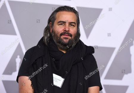 Stock Image of Hoyte van Hoytema arrives at the 90th Academy Awards Nominees Luncheon at The Beverly Hilton hotel, in Beverly Hills, Calif