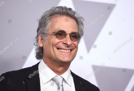 Mark Mangini arrives at the 90th Academy Awards Nominees Luncheon at The Beverly Hilton hotel, in Beverly Hills, Calif