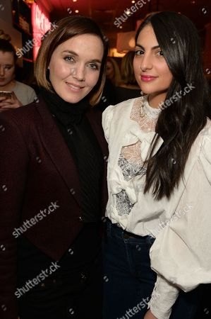 Stock Photo of Victoria Pendleton and Samantha Wasser