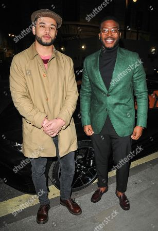 Calvin Demba and Zackary Momoh