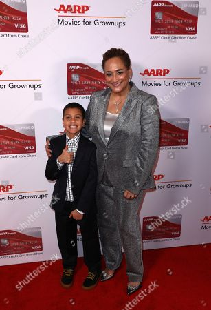 Christopher Rivera, Jo Ann Jenkins. Christopher Rivera, left, and AARP CEO Jo Ann Jenkins attend AARP The Magazine's 17th Annual Movies for Grownups Awards at Beverly Wilshire Hotel on in Beverly Hills, Calif
