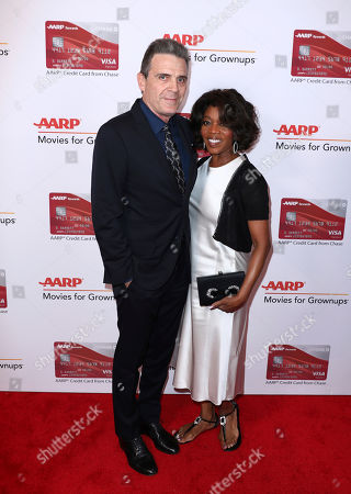 Roderick Spencer, Alfre Woodard. Roderick Spencer, left, and Alfre Woodard attend AARP The Magazine's 17th Annual Movies for Grownups Awards at Beverly Wilshire Hotel on in Beverly Hills, Calif
