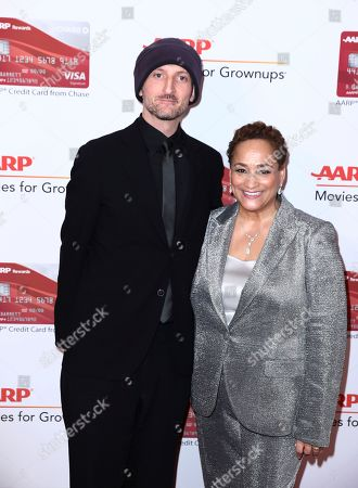 Michael Gracey, Jo Ann Jenkins. Michael Gracey, left, and AARP CEO Jo Ann Jenkins attend AARP The Magazine's 17th Annual Movies for Grownups Awards at Beverly Wilshire Hotel on in Beverly Hills, Calif