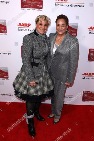 Shari Belafonte, Jo Ann Jenkins. Shari Belafonte and AARP CEO Jo Ann Jenkins attend AARP The Magazine's 17th Annual Movies for Grownups Awards at Beverly Wilshire Hotel on in Beverly Hills, Calif