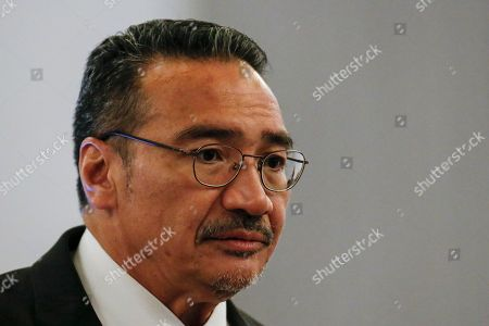 Malaysia's Defense Minister Hishammuddin Hussein attends the ASEAN Defense Ministers' Meeting, in Singapore