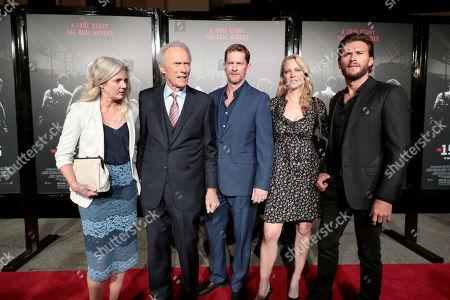 Christina Sandera, Clint Eastwood, Director/Producer, Stacy Poitras, Alison Eastwood, Scott Eastwood