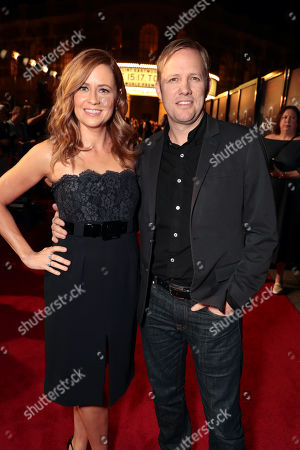 Stock Picture of Jenna Fischer, Lee Kirk
