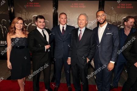 Jenna Fischer, Alek Skarlatos, Spencer Stone, Clint Eastwood, Director/Producer, Anthony Sadler