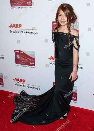 Editorial photo of AARP The Magazine's Movies for Grownups Awards, Arrivals, Los Angeles, USA - 05 Feb 2018