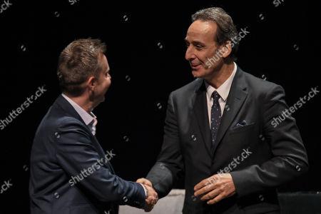 Alexandre Desplat and Julian Slater