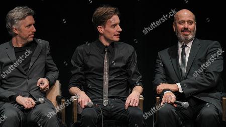 sound editor Matthew Wood, special effects make-up artist Arjen Tuiten and costume designer Mark Bridges