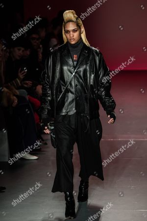 Editorial picture of Willy Chavarria show, Runway, Fall Winter 2018, New York Fashion Week Men's, USA - 05 Feb 2018