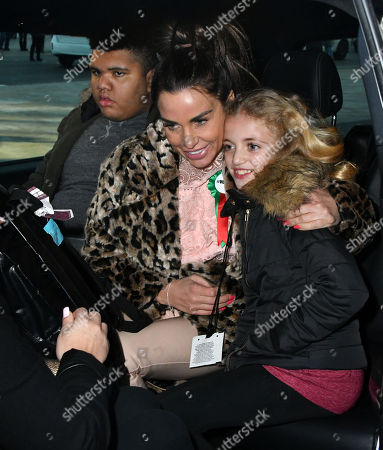 Stock Photo of Harvey Price, Katie Price, Princess Tiaamii Crystal Esther Andre
