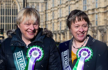 Editorial image of Labour 100 years of women's suffrage London, UK- 6 Feb 2018