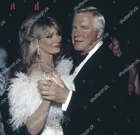 George Peppard and Deidre Hall at the American Cancer Ball