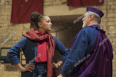 Angela Griffin as Nourmahal, Barrie Rutter as The Emperor