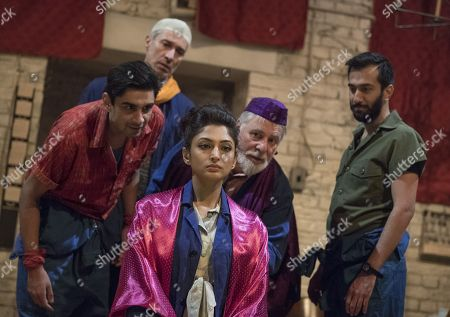 Dharmesh Patel as Morat, Silas Carson as Arimant, Neerja Naik as Indamora, Barrie Rutter as The Emperor, Naeem Hayat as Aurangzeb