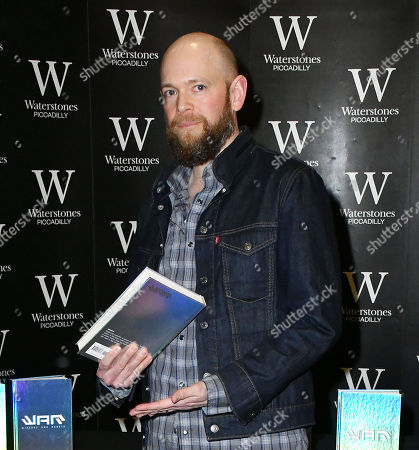 Editorial picture of will.i.am and Brian David Johnson 'Wizards and Robots' book signing, London, UK - 06 Feb 2018