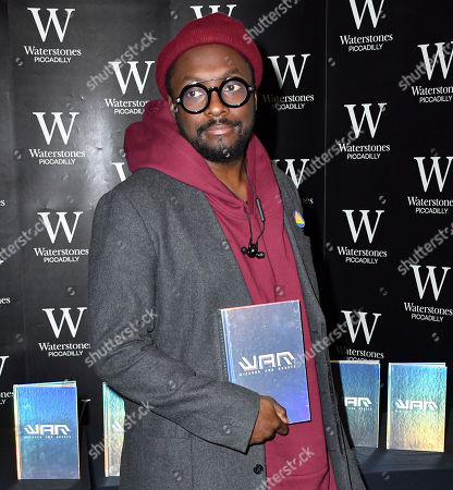 Stock Photo of will i am and his book