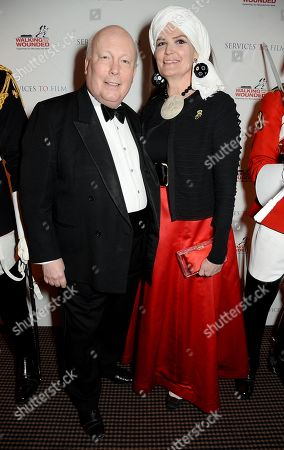 Julian Fellowes and Lady Emma Fellowes