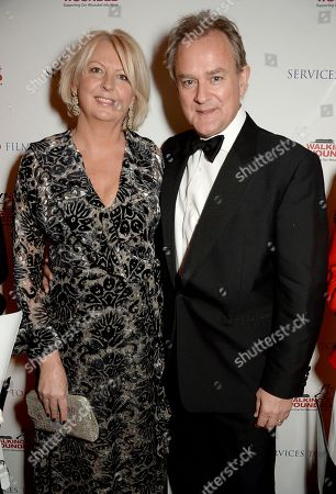 Lulu Evans and Hugh Bonneville