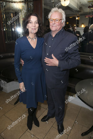 Stock Image of Sue Birtwistle and Richard Eyre (Director)