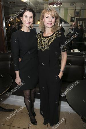 Gemma Arterton and Jessica Swale
