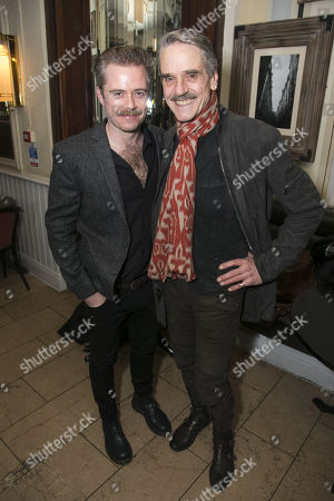 Rory Keenan (James Tyrone Jr) and Jeremy Irons (James Tyrone)