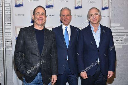 Jerry Seinfeld, Bob Roth, Ray Dalio