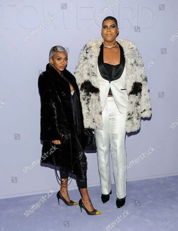 Elisa Johnson, left, and EJ Johnson