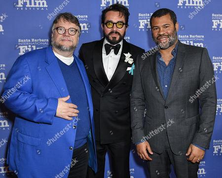 Guillermo Del Toro, Roger Durling and Jordan Peele