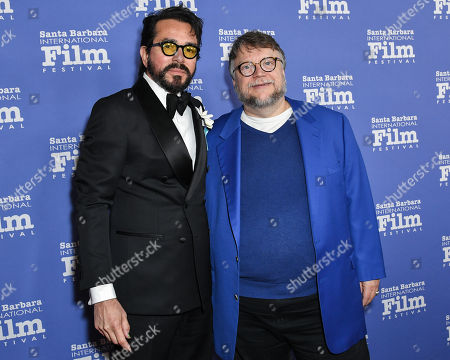 Roger Durling and Guillermo Del Toro