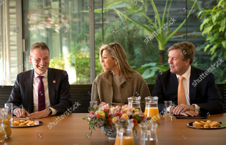 King Willem-Alexander, Queen Maxima. Dutch King Willem-Alexander, right, and Queen Maxima sit with Dutch Foreign Minister Halbe Zijlstra before a briefing at the Dutch Ambassador's residence in Beijing, . Willem-Alexander and Maxima are on a visit to China en route to South Korea to attend the Winter Olympics in Pyeongchang