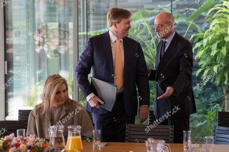 King Willem-Alexander, Maxima and Halbe Zijlstra