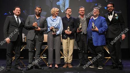 Scott Feinberg, Jordan Peele, Greta Gerwig, Paul Thomas Anderson, Christopher Nolan, Guillermo Del Toro and Roger Durling