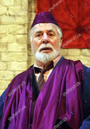 Stock Image of Barrie Rutter as The Emperor