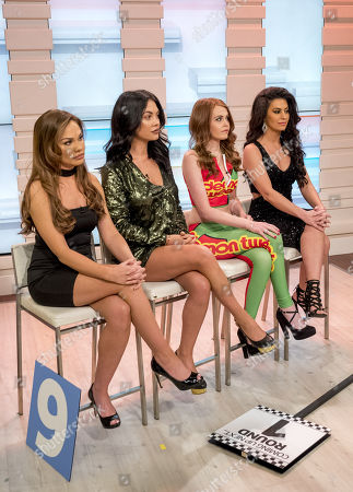 Grid Girls - Sam Young, Sara Beverley Jones, Holly Victoria and Jade Slusarczyk