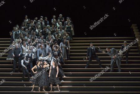 Editorial image of 'Carmen' Opera performed at the Royal Opera House, London, UK, 05 Feb 2018