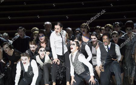 Stock Picture of Anna Goryachova as Carmen