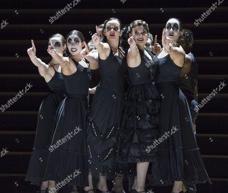 Stock Photo of Anna Goryachova as Carmen