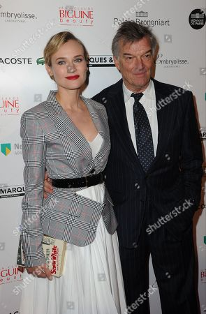 Diane Kruger and Benoit Jacquot