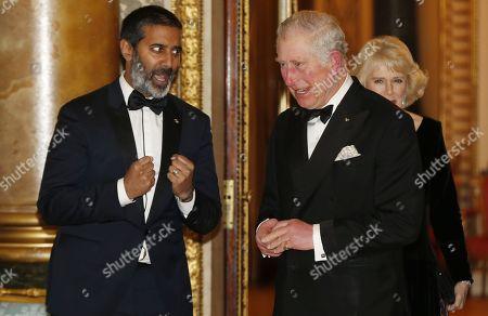 Nihal Arthanayake and Prince Charles