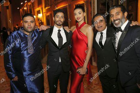 Naughty Boy, Riz Ahmed, Neelan Gill, Sanjeev Bhaskar and Nihal Arthanayake