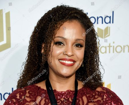 """Author Jesmyn Ward attends the 68th National Book Awards Ceremony and Benefit Dinner in New York. Scribner told The Associated Press that Ward will write an adult novel about an enslaved woman sent from the Carolinas to New Orleans. She will then work on her first novel for middle graders, a """"magical adventure"""" featuring a Southern black woman with """"special powers"""