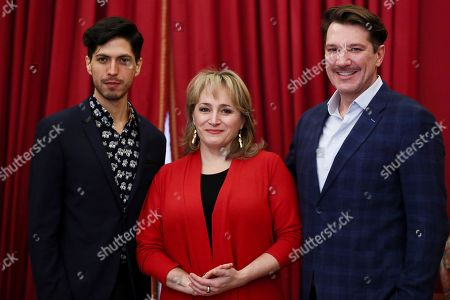 Patricia Racette, Joel Prieto and Palo Szot
