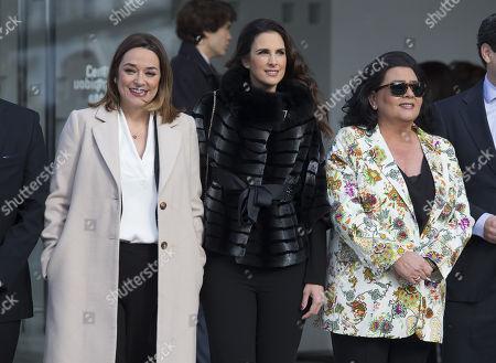 Toni Moreno, Nuria Fergo and Maria del Monte