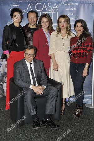 Gabriele Muccino, Stefano Accorsi, Carolina Crescentini,   Claudia Gerini, Giulia Michelini, Valeria Solarino